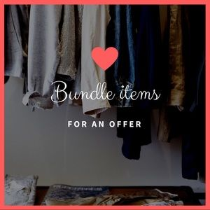 Other - Bundle your likes and I'll make an exclusive offer